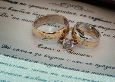 Снимки на сватбени детайли - Алекс Велчев